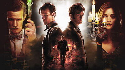 """039 Doctor Who - BBC Space Travel 50th_anniversary Hot TV Show 24""""x14"""" Poster"""