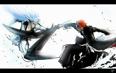 "070 Bleach - Dead Rukia Ichigo Fight Japan Anime 38""x24"" Poster"