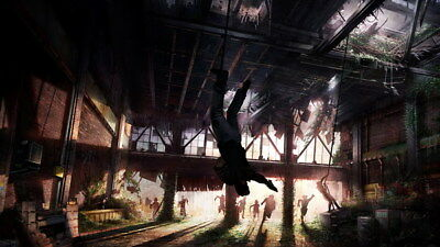 """077 The Last of Us - Zombie Survival Horror Action TV Game 42""""x24"""" Poster"""