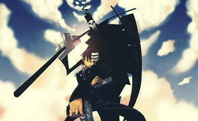 """055 Soul Eater - Shinigami Death the kid Anime 39""""x24"""" Poster"""