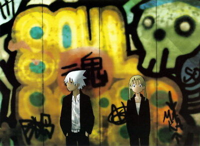 """079 Soul Eater - Shinigami Death the kid Anime 32""""x24"""" Poster"""