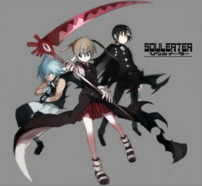 """083 Soul Eater - Shinigami Death the kid Anime 25""""x24"""" Poster"""