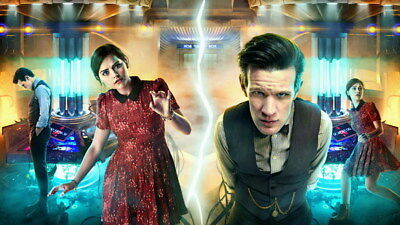 """057 Doctor Who - BBC Space Travel 50th_anniversary Hot TV Show 42""""x24"""" Poster"""