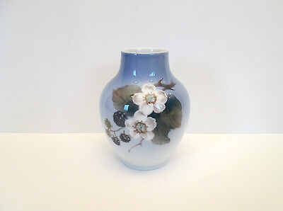"Royal Copenhagen ""Blackberry Blossom"" Vase, Denmark"