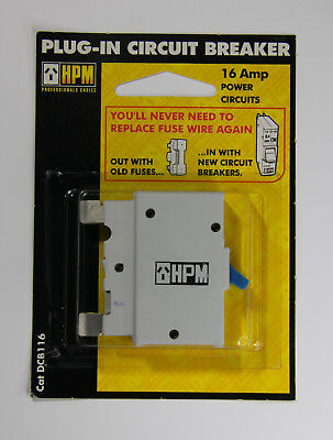 HPM Plug-In Circuit Breaker for 15A & 16A Power Circuits DCB116