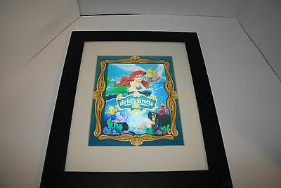 Little Mermaid Ariel's Grottolo and friends 3D picture print Disneyland