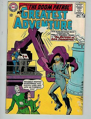 My Greatest Adventure #84 (Dec 1963, DC)! VG4.0+! Silver age DC beauty! LOOK!