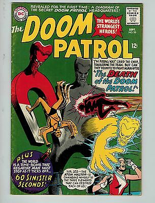 The Doom Patrol #98 (Sep 1965, DC)! VG4.5+! Silver age DC Beauty! CHECK IT OUT!