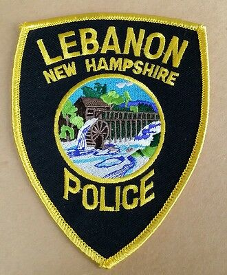 Lebanon, New Hampshire Police Shoulder Patch Nh