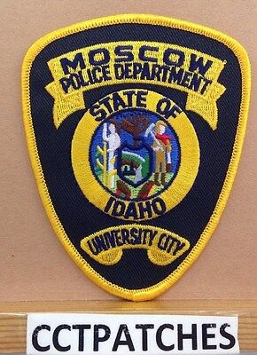 Moscow, Idaho Police Shoulder Patch Id 2
