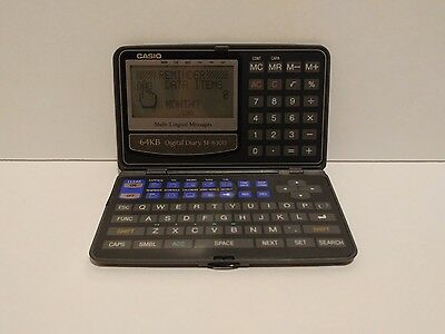 Casio SF-6300 64KB Digital Diary PDA Vintage Rare Mint