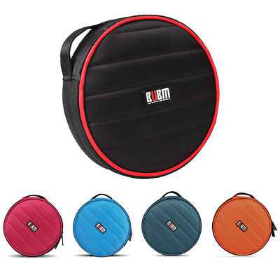 FP BUBM 32 Capacity CD / DVD bag 230D Space Twill Cover round shockproof Red
