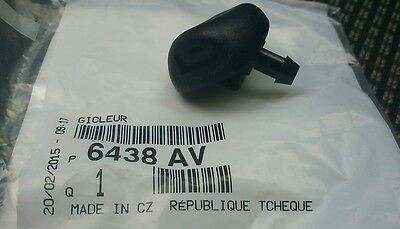 Genuine Peugeot 206 Washer Jet 6438AV