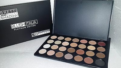 blush italia make up palette 28 ombretti nude edizione platinum