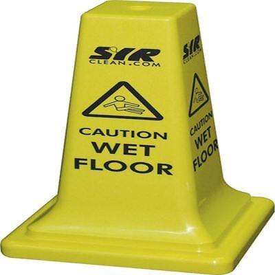 SYR Floor Sign Caution Wet Floor 21 Inches 992387 [JS05079]