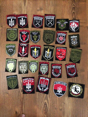 "PATCH MILITARY UKRAINE Battalion  ""RIGHT SECTOR"" SALE COLLECTION 51 patches!!!!"