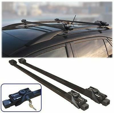 Dacia Sandero 13-On Dynamic Anti-Theft Lockable Roof Bars