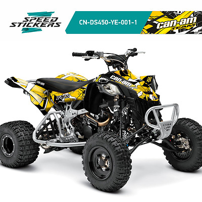 Can-Am Ds450 Ds 450 Atv Graphics Set Body Kit Decal Sticker +Free Gift
