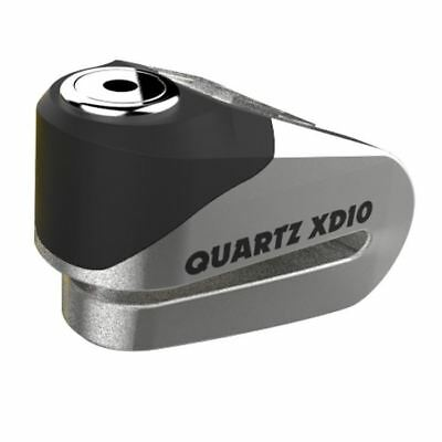 Oxford Quartz XD10 Motorcycle Scooter Disc Lock 10mm Pin Stainless Steel New