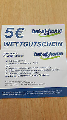 bet at home gutschein bestandskunden