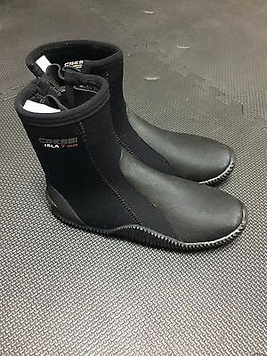 New Scuba Diving Cressi Isla Boots 7mm size 7
