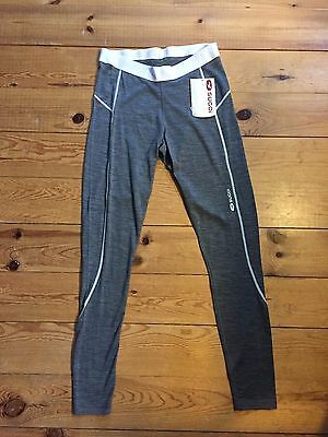 New Sugoi Women's Wallaroo 170 Legging Gray Large good for Running Cycling Tri