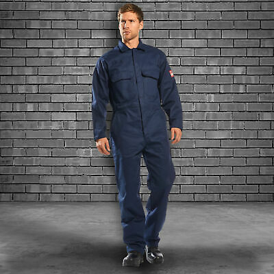 Portwest UBIZ1 Bizweld Flame Resistant Coverall for the Welding Industry
