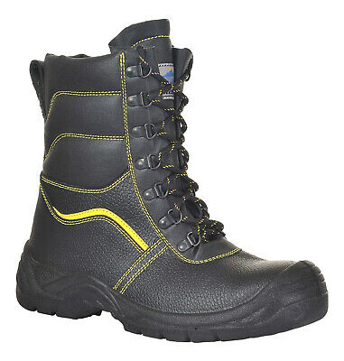 Portwest FW05 Steelite Fur Lined Protector Boot with Protective Steel Toe ASTM
