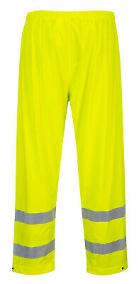 Rain Pants Hi Visibility Reflective Hi Vis Yellow ANSI Waterproof Safety, S493