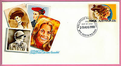 Australia Envelope – First Day of Issue, 20 August 1980, YWCA