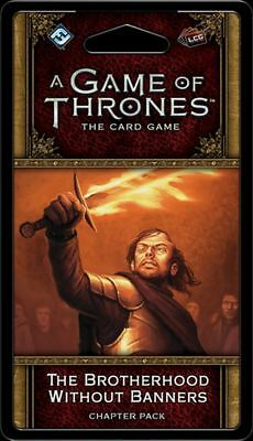 The Brotherhood Without Banners Chapter Pack for A Game of Thrones LCG 2nd editi