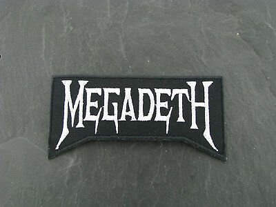 Patches Aufbügler Aufnäher Megadeth Rock'N'Roll Hard Rock Heavy thrash Metal