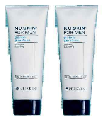 Lot 2 nu skin for men shave cream 200g