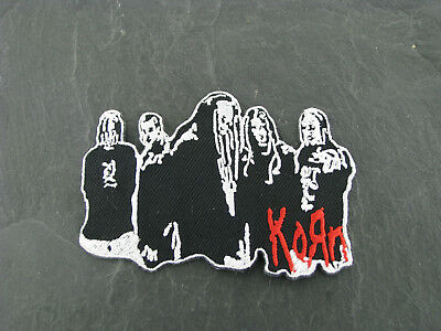 Patches Patch Aufbügler Aufnäher Korn Rock'N'Roll Hard Rock Alternative Metal