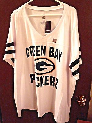 NWT - Torrid - NFL Team Apparel- Green Bay Packers- Plus 4-Short Sleeve T-Shirt