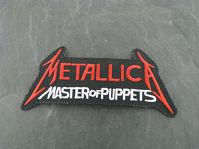 Patches Aufbügler Aufnäher Metallica MoP Rock'N'Roll Hardrock Heavy Metal