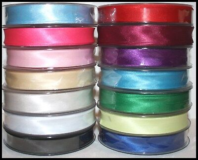 Satin Bias Binding Tape X 5 Metres (Choice Of Colours) 19Mm - Assorted Colours