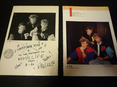 a-ha  -Clipping  Early 80s
