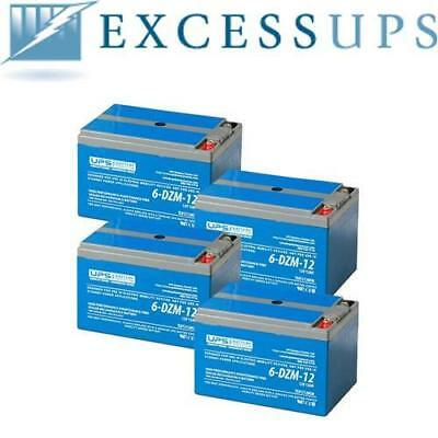6-Dzm-12 Replacement Battery Pack (4) - Brand New Fresh Stock! 1 Yr Warranty!