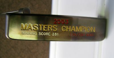 Titleist Scotty Cameron 2003 Masters Champ Putter No.174/281 Left-Handed
