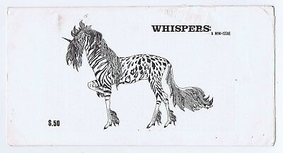 Whispers Science Fiction Fanzine Mini Issue Very Rare 1976