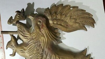 Vintage Weathervane Eagle Hollow Copper