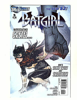 Batgirl #5 (2012, DC) VF/NM New 52 Adam Hughes Cover! Barbara Gordon 1st Gretel
