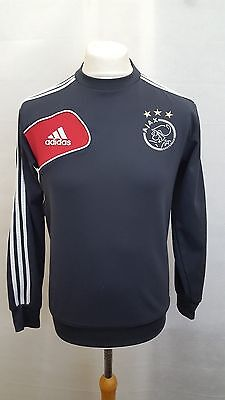 Ajax Jumper Size 36/38 Small Adidas Grey Adults Long Sleeve Football Training