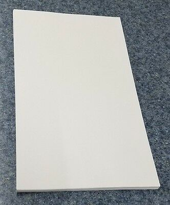 "50 Sheets of 8.5 X 14"" Legal / Menu Size 90lb. Smooth White Card Stock"