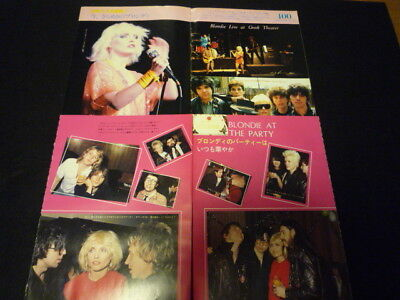 Blondie -Clipping Late 70's& Early 80s Debbie Harry