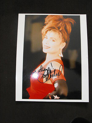 Stunning  Hot Paula Abdul Autographed Photo