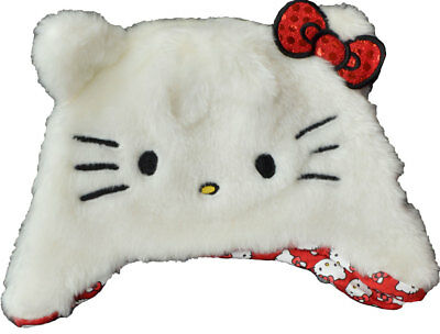 Girls - Hello Kitty Winter Furry Novelty Hat