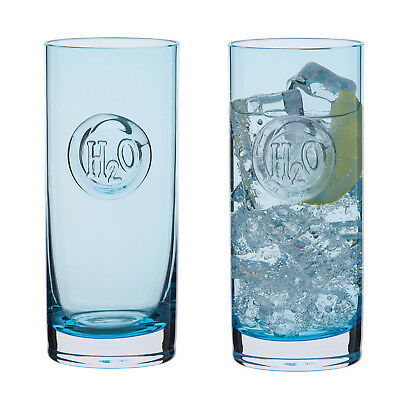 Dartington Crystal - H2O Collection Pair of Highball Glasses in Gift Box
