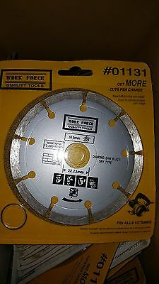 Work Force 01131 115Mm Diamond Saw Blade Dry Type -Fast Shipping!!!